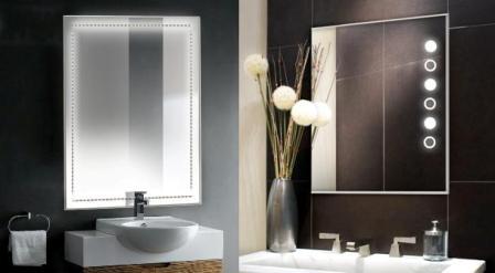 Spogulis LED Line